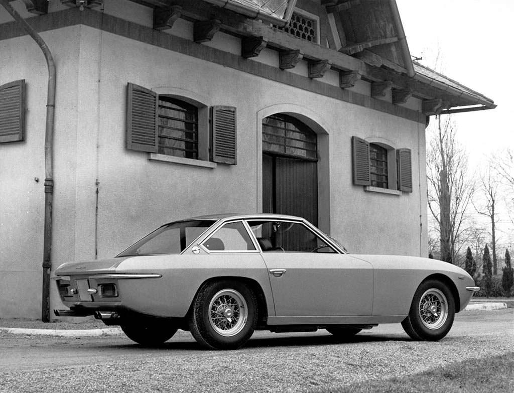Классическая Lamborghini Islero