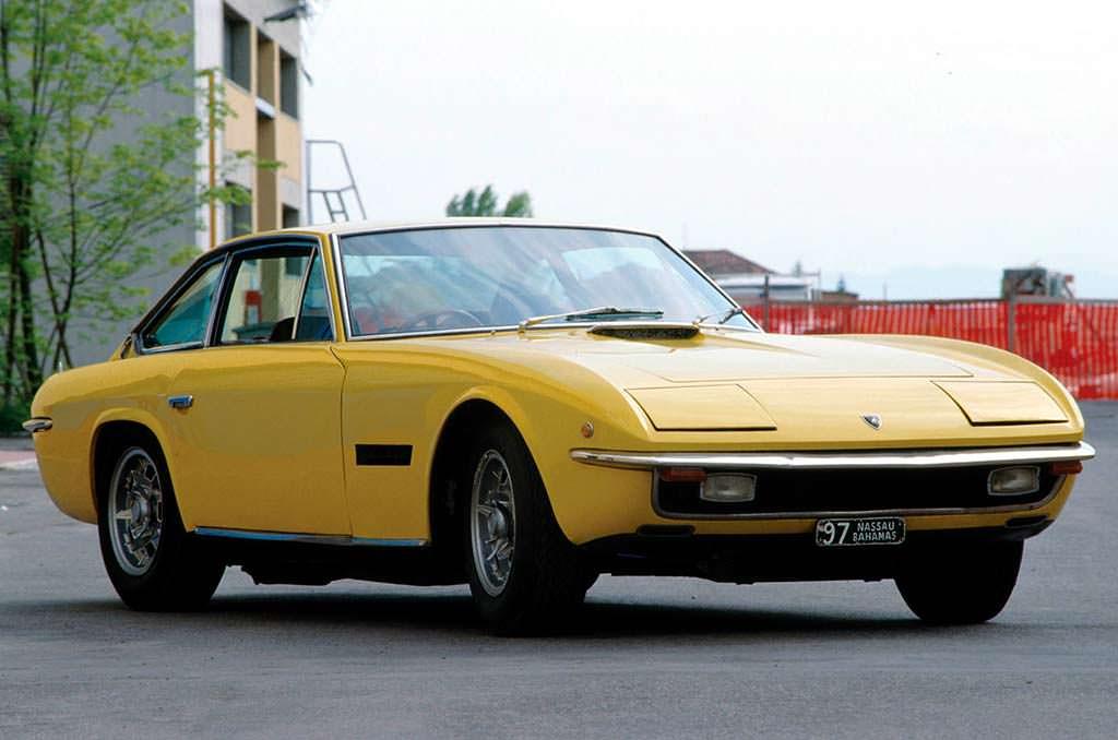 Четырехместная Lamborghini Islero