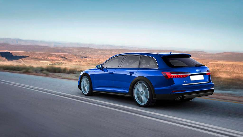 Новая Audi A6 Allroad 2019. Рендер Клебера Сильвы
