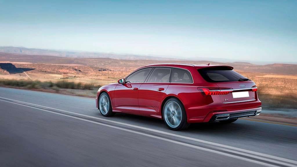 Универсал Audi A6 Avant 2019, неофициальный дизайн