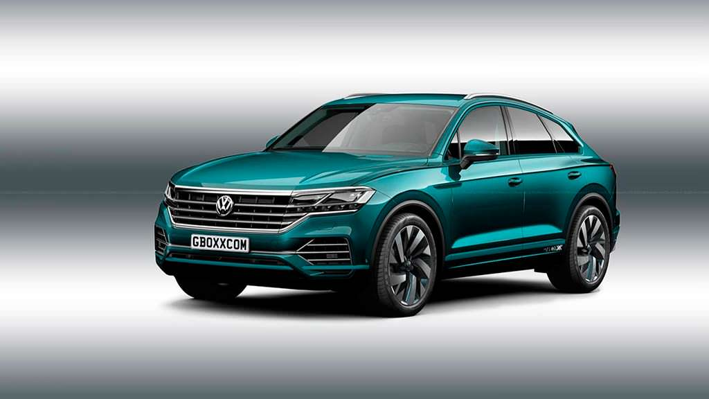 Volkswagen Touareg Coupe, неофициальный дизайн