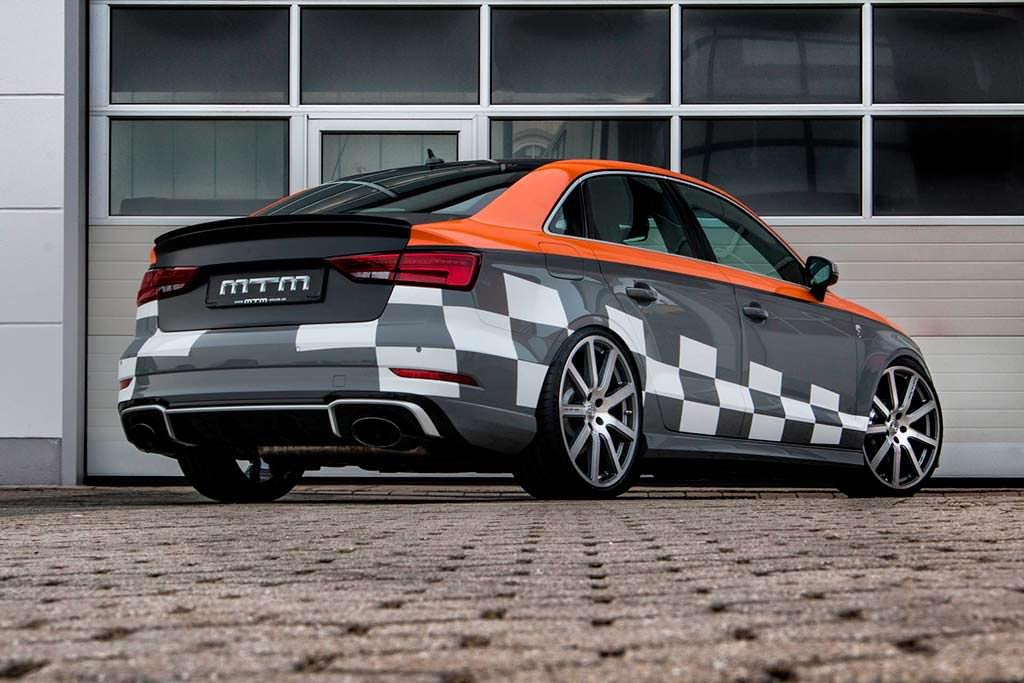Спортивный седан Audi RS3 R. Тюнинг от MTM