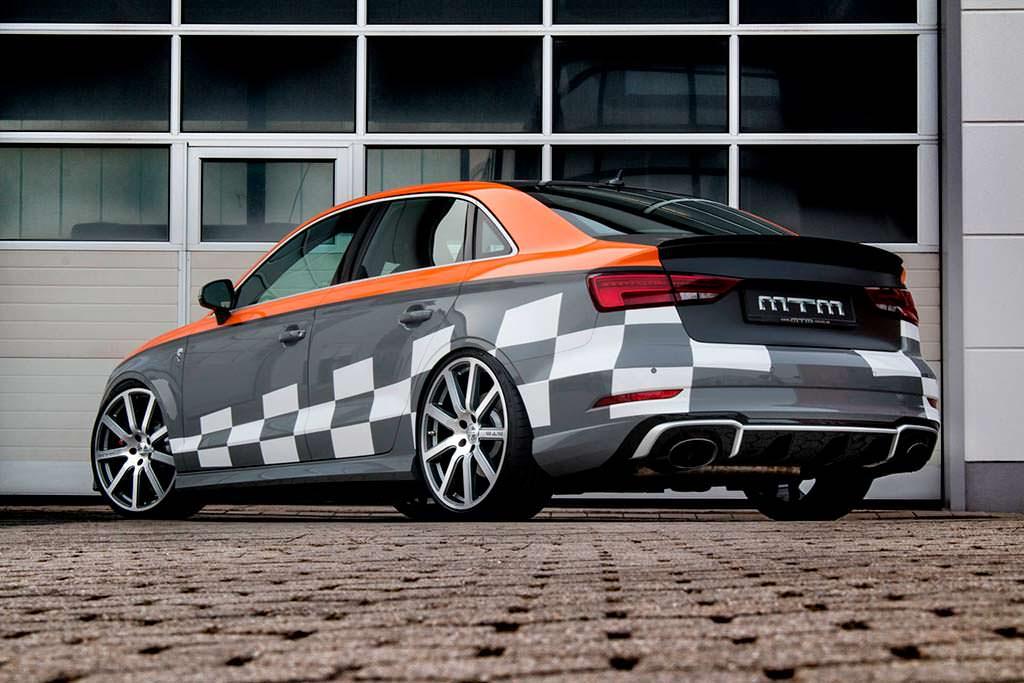 Новая Audi RS3 R Sedan. Тюнинг от MTM