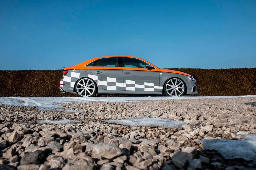 Тюнинг Audi RS3 R Sedan от MTM. Мощность 572 л.с.