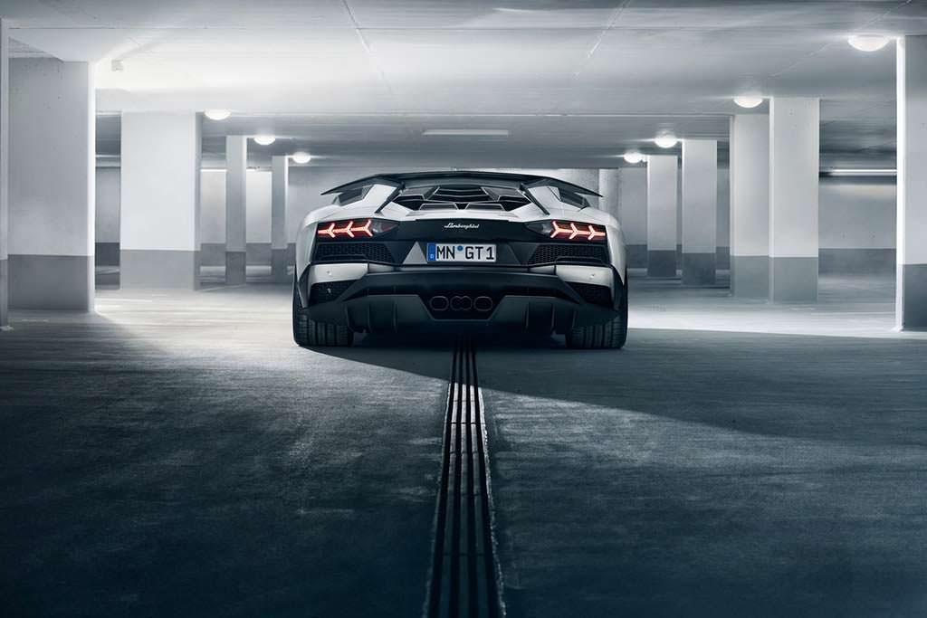 Novitec Lamborghini Aventador S. Выхлопная система из инконеля