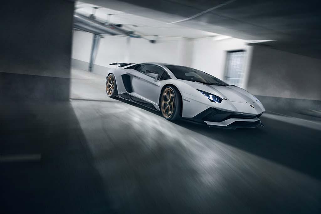 Lamborghini Aventador S. Тюнинг от Novitec