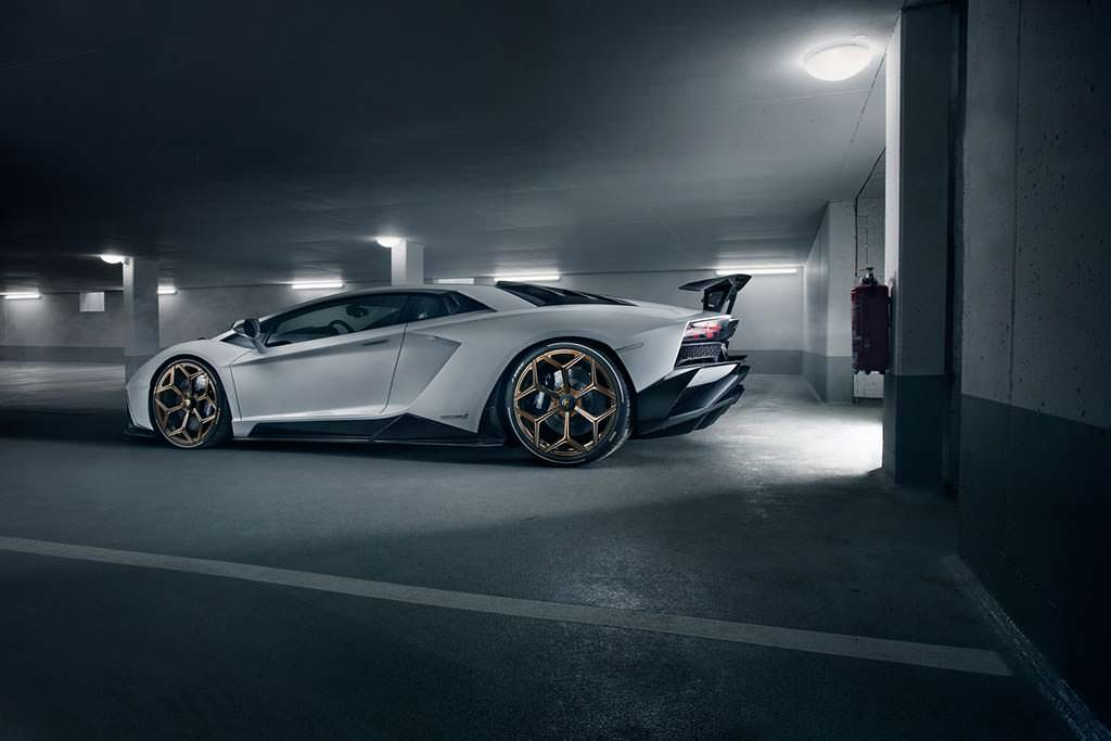 Novitec Lamborghini Aventador S. Скорость 350 км/ч