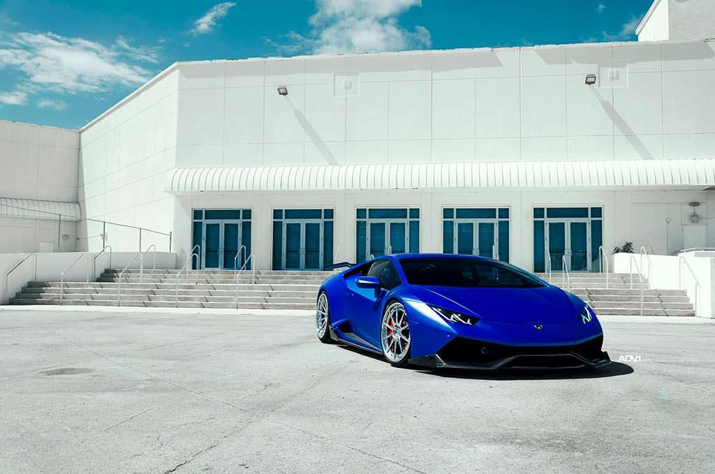 Новый тюнинг Lamborghini Huracan от 1016 Industries