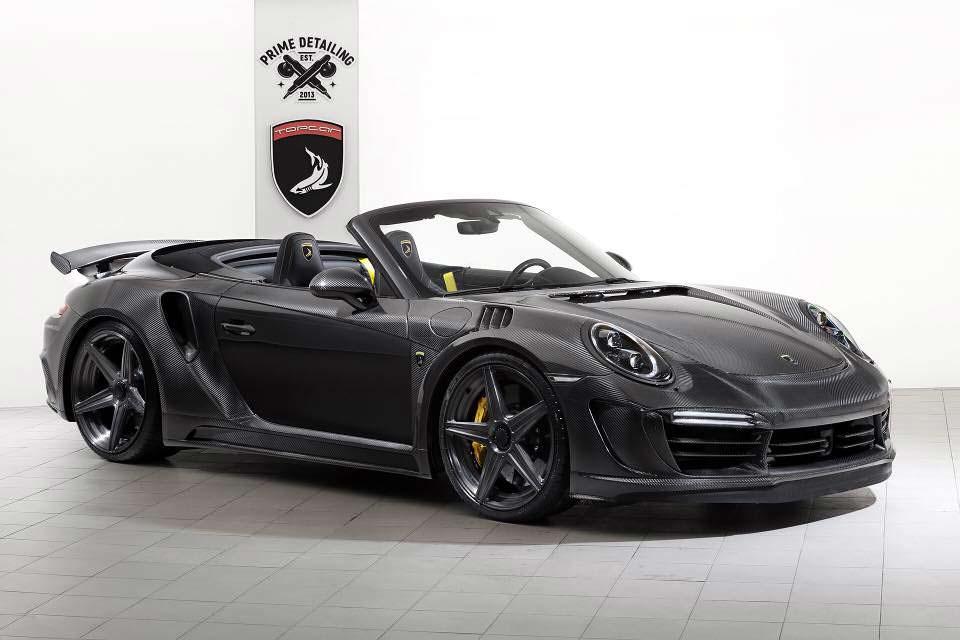 Кабриолет Porsche 911 Stinger GTR Carbon Edition от TopCar
