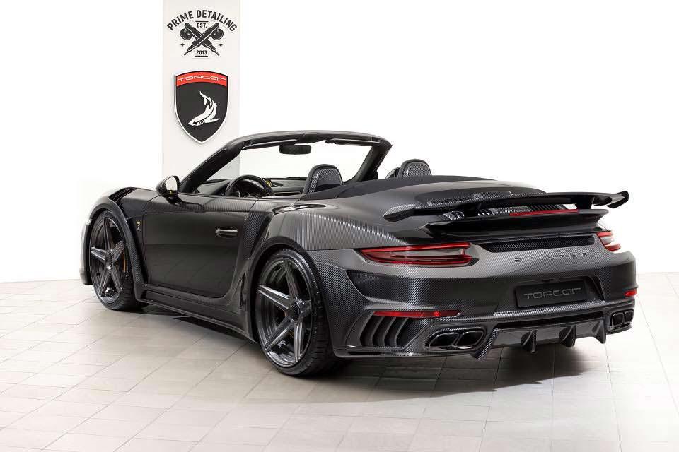 Тюнинг кабриолет Porsche 911 Stinger GTR от TopCar