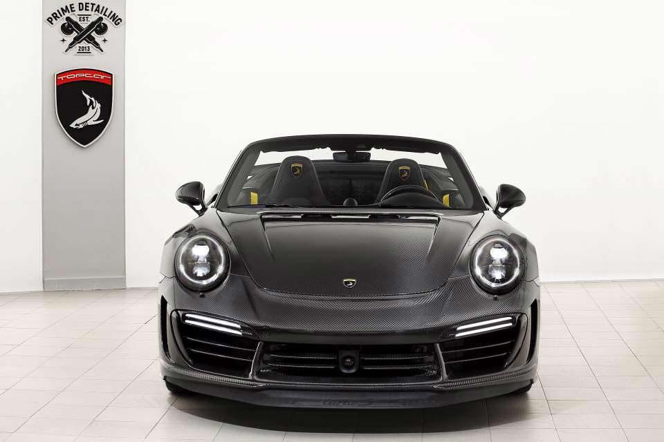 Кабриолет Porsche 911 Stinger GTR. Тюнинг от TopCar