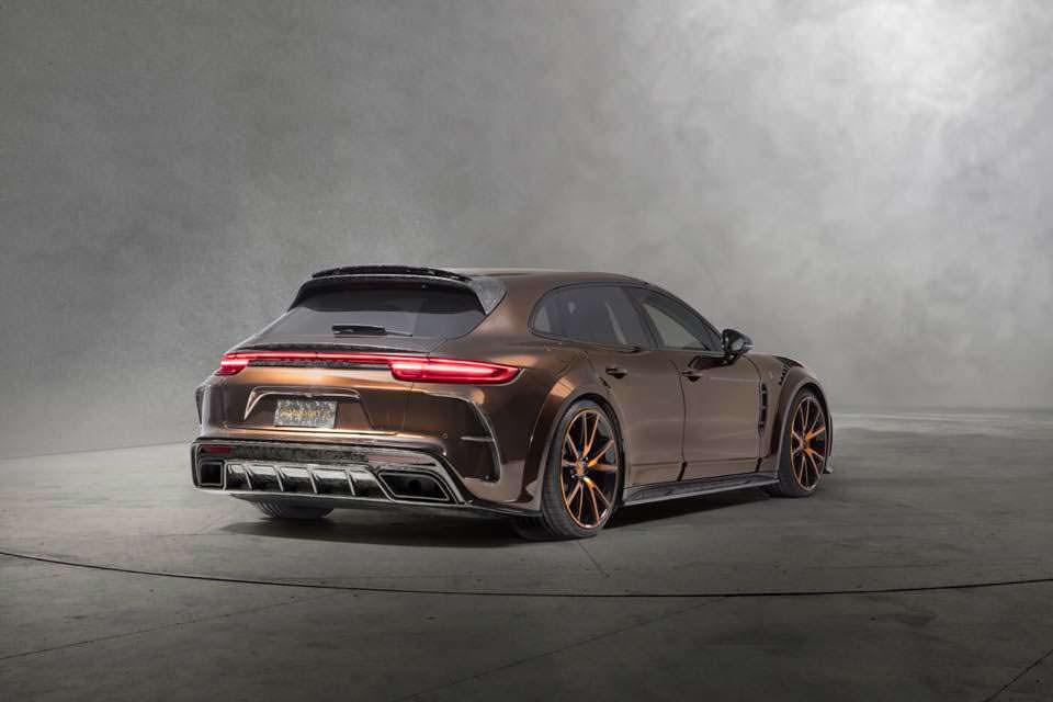 Универсал Porsche Panamera Sport Turismo. Тюнинг от Mansory