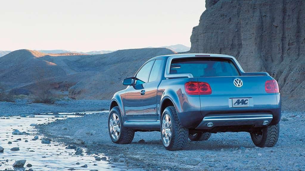 Пикап Volkswagen AAC 2000 года
