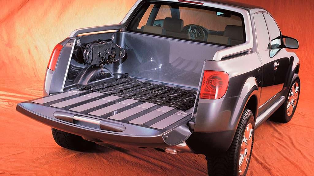 Погрузочная площадка пикапа Volkswagen AAC 2000 года