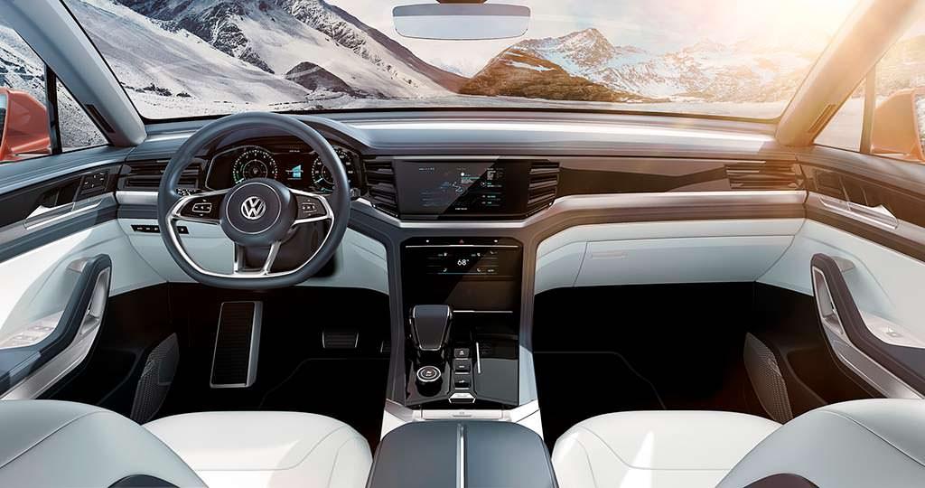 Фото салона Volkswagen Atlas Cross Sport Concept