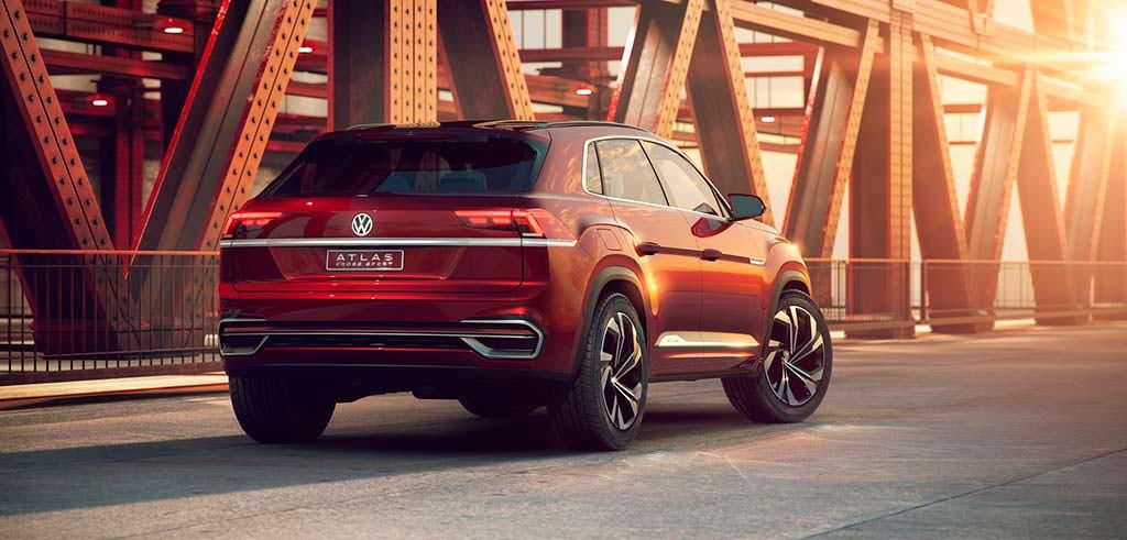2018 Volkswagen Atlas Cross Sport Concept