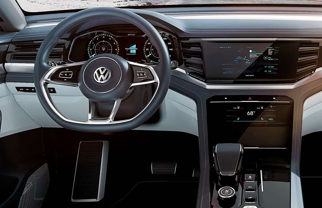 Фото внутри Volkswagen Atlas Cross Sport Concept