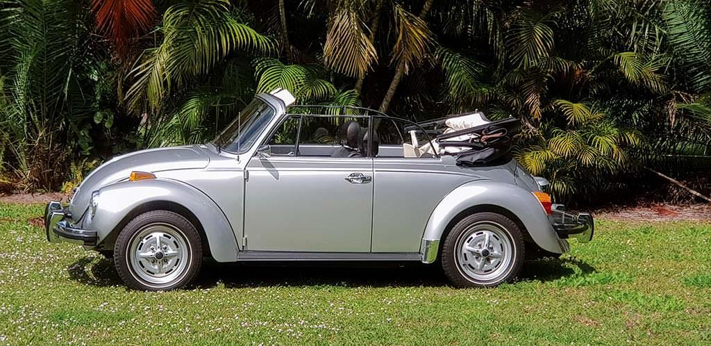 Коллекционный Volkswagen Beetle Cabriolet 1979 года выпуска