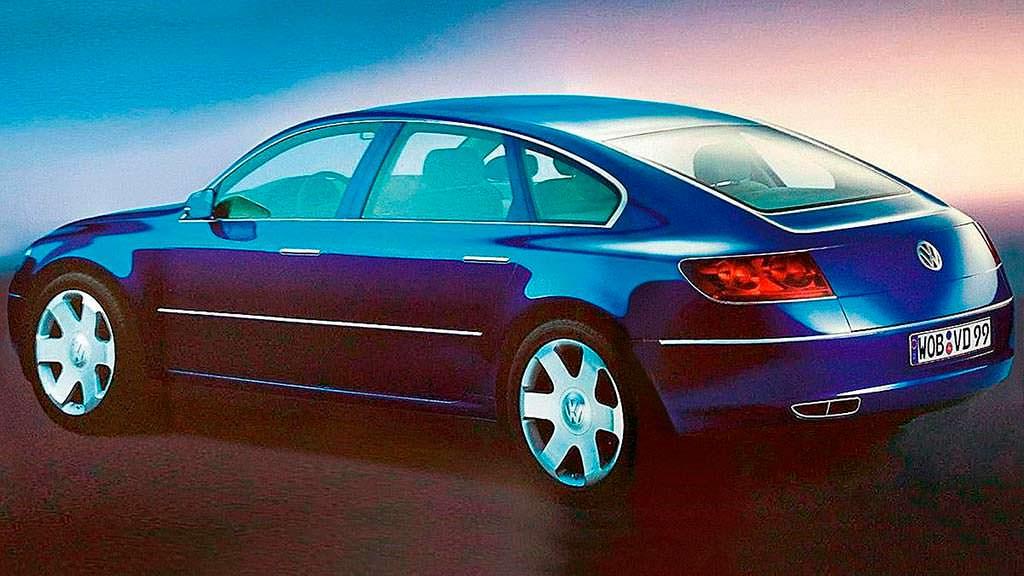 Volkswagen Concept D 1999 года