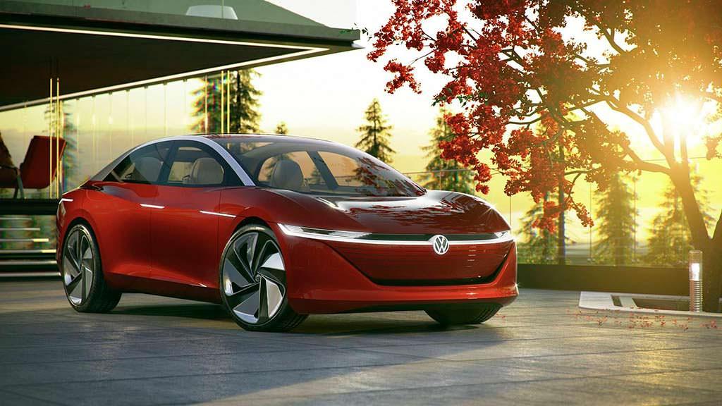 Автономный автомобиль Volkswagen I.D. Vizzion Concept