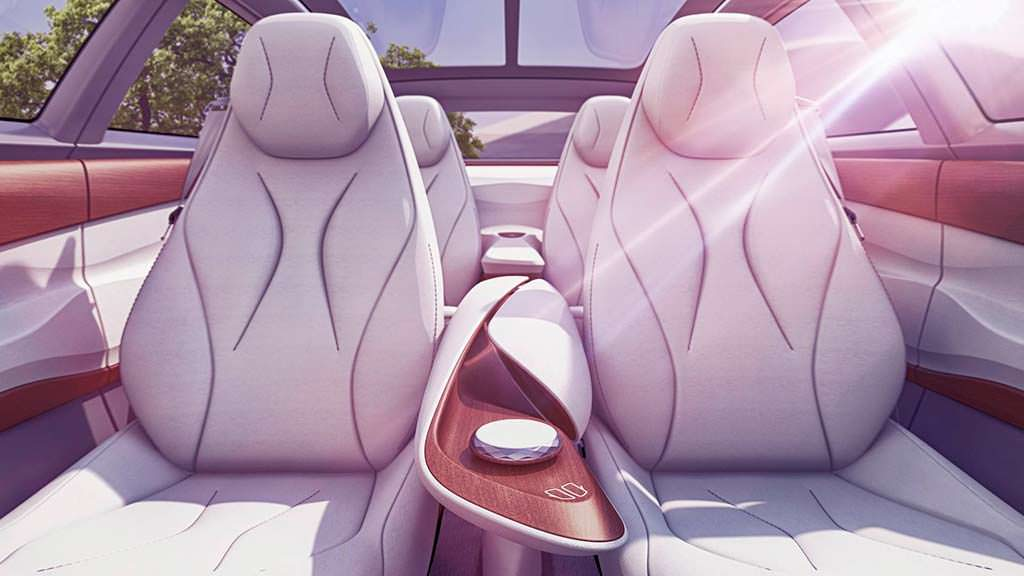 Дизайн интерьера Volkswagen I.D. Vizzion Concept