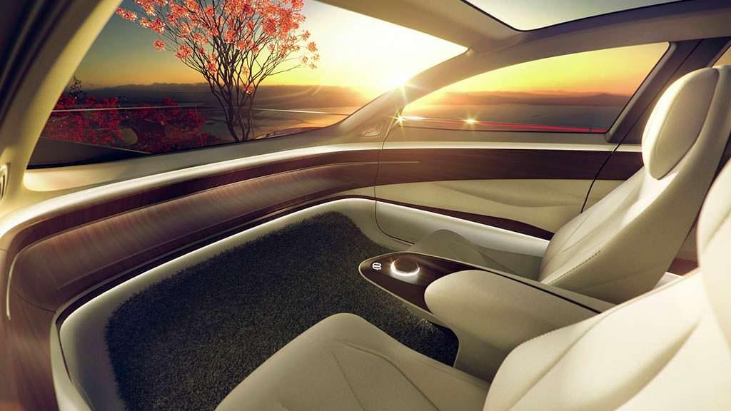 Фото внутри Volkswagen I.D. Vizzion Concept