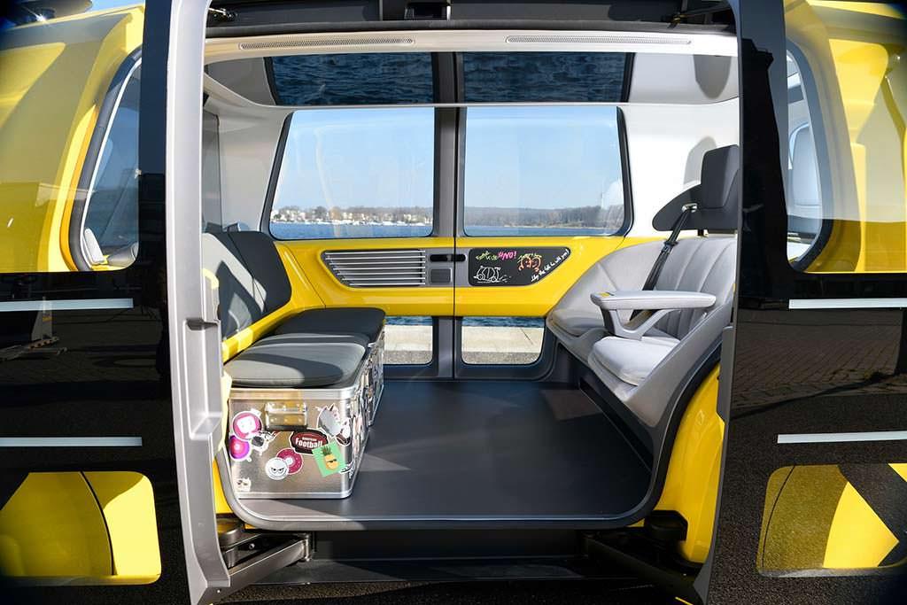 Фото внутри Volkswagen Sedric School Bus Concept