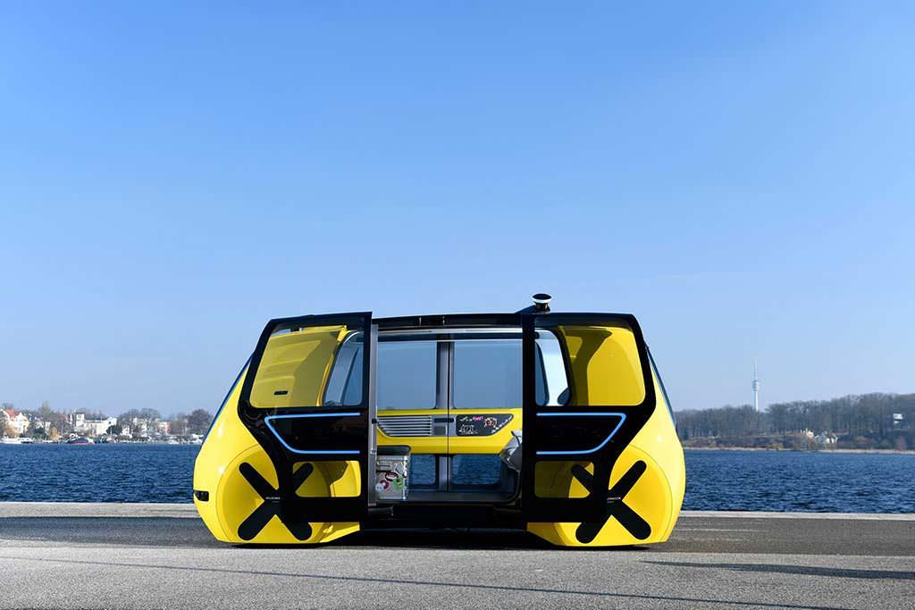Volkswagen Sedric School Bus Concept 2018