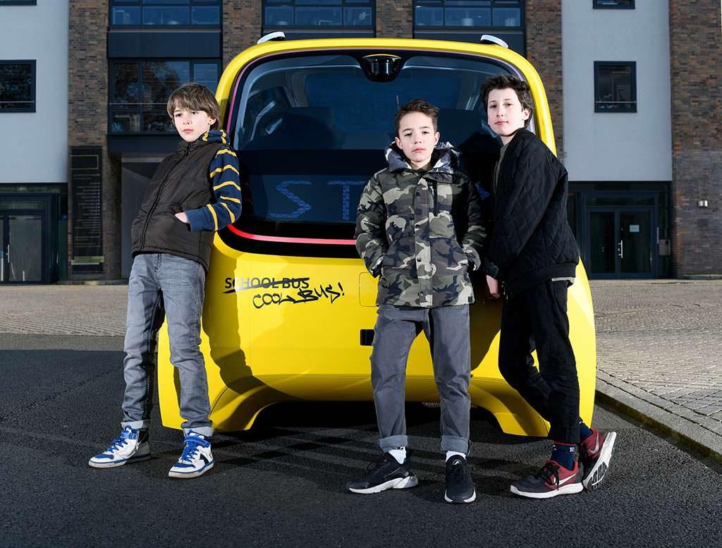 Школьный автобус без водителя VW Sedric School Bus Concept
