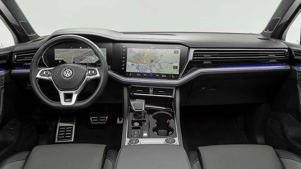 Фото салона Volkswagen Touareg 2019