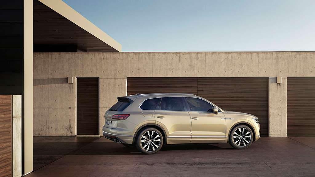 Новый Volkswagen Touareg 2019