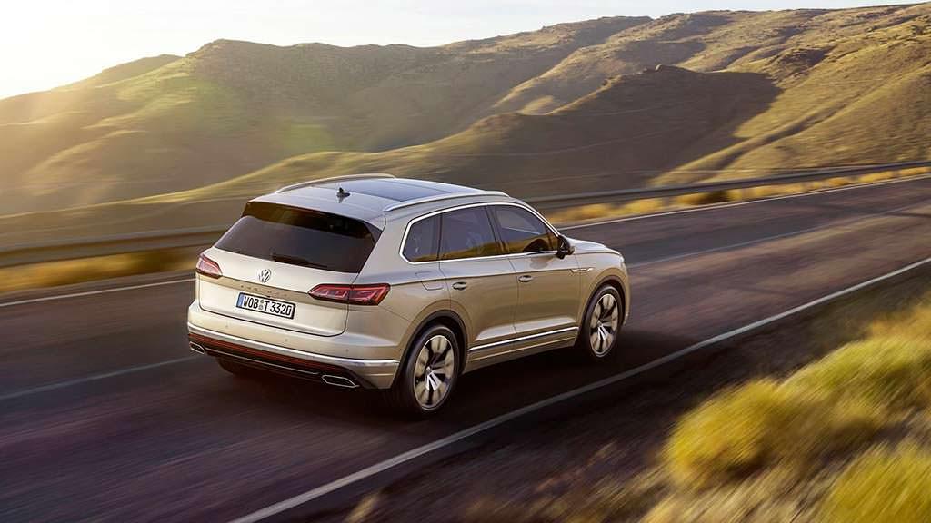 Volkswagen Touareg нового поколения
