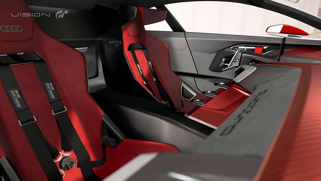 Фото салона Audi E-Tron Vision Gran Turismo