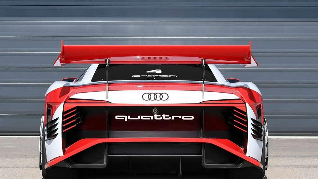 2018 Audi E-Tron Vision Gran Turismo