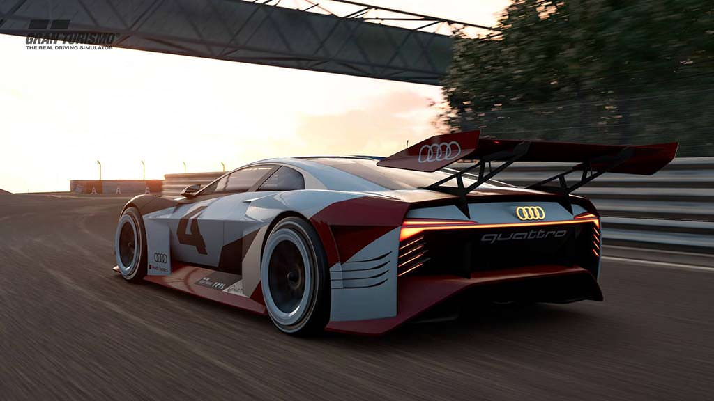 Электрический суперкар Audi E-Tron Vision Gran Turismo