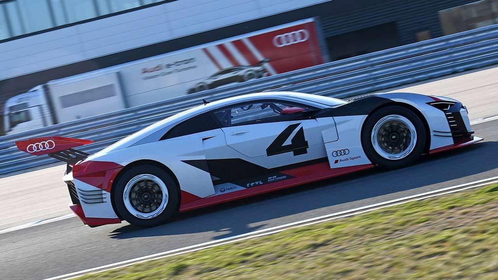 Виртуальный суперкар Audi E-Tron Vision Gran Turismo