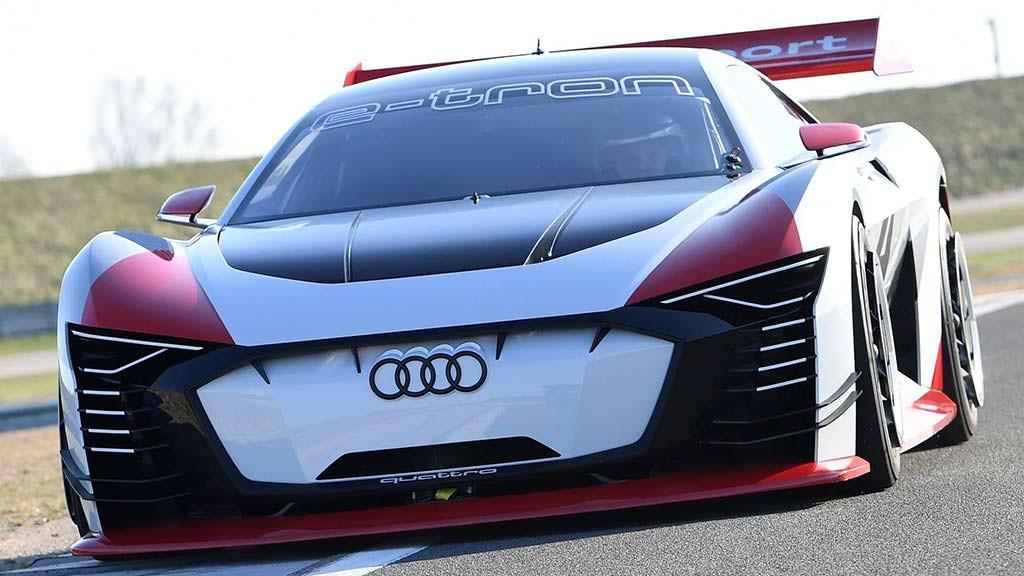 Audi E-Tron Vision Gran Turismo. Мощность 815 л.с.