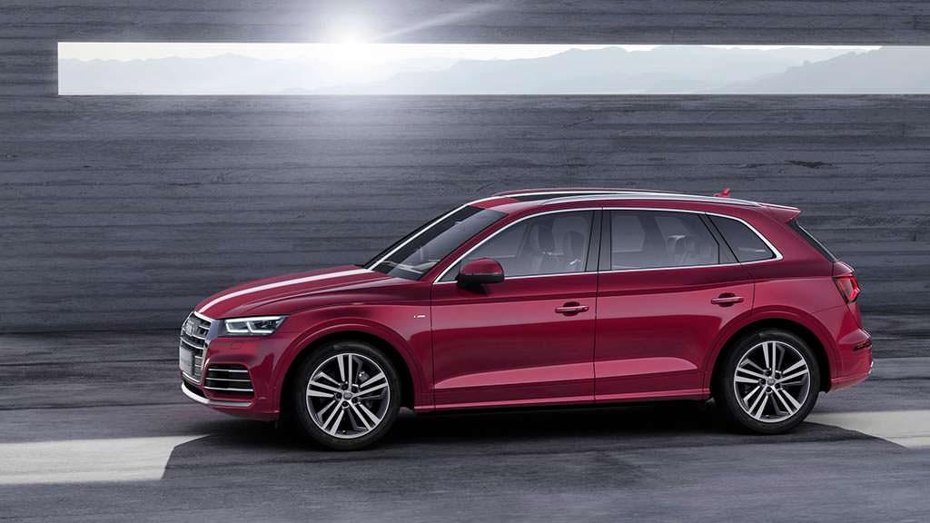 Длинная версия Audi Q5 L для Китая