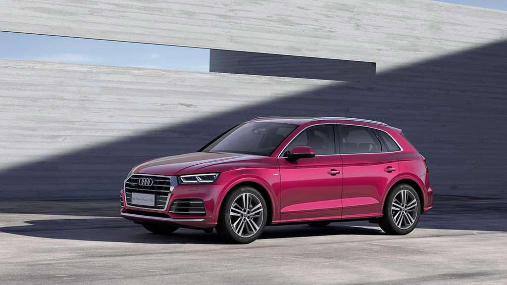 Удлиненная Audi Q5 L для Китая