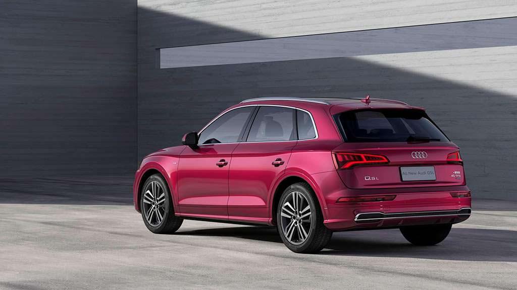 Audi Q5 L с длинной колесной базой