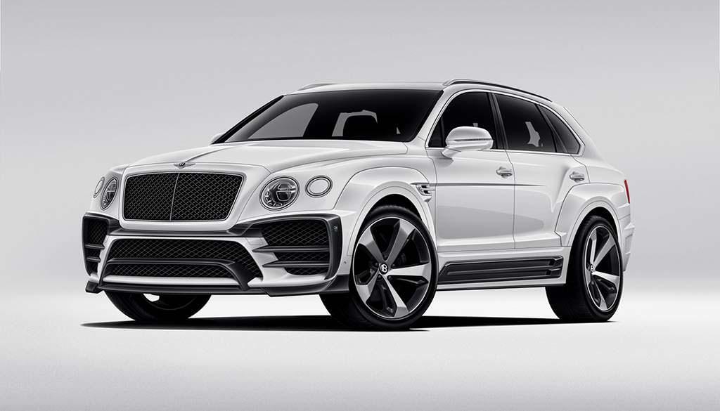 Красивый обвес кузова Bentley Bentayga от Larte Design