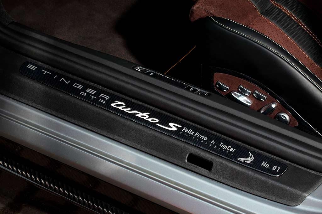 Пороги Porsche 911 Turbo Stinger GTR Felix Ferro от TopCar