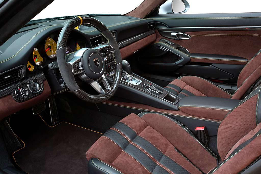 Салон Porsche 911 Turbo Stinger GTR Felix Ferro от TopCar