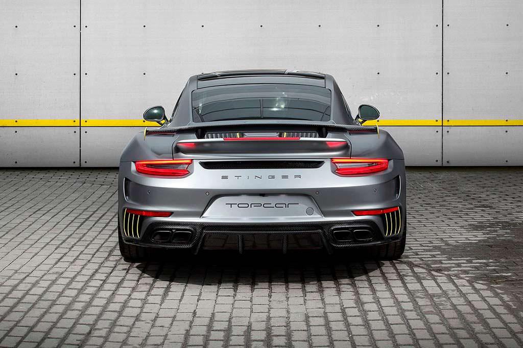 Porsche 911 Turbo Stinger GTR Felix Ferro. Обвес TopCar