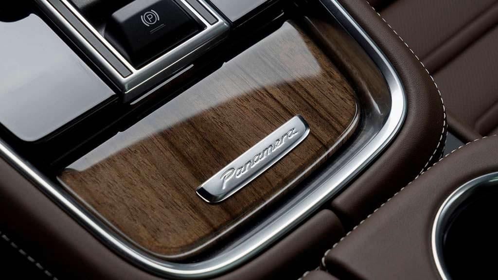 Деревянный декор Panamera Turbo от Porsche Exclusive Manufaktur