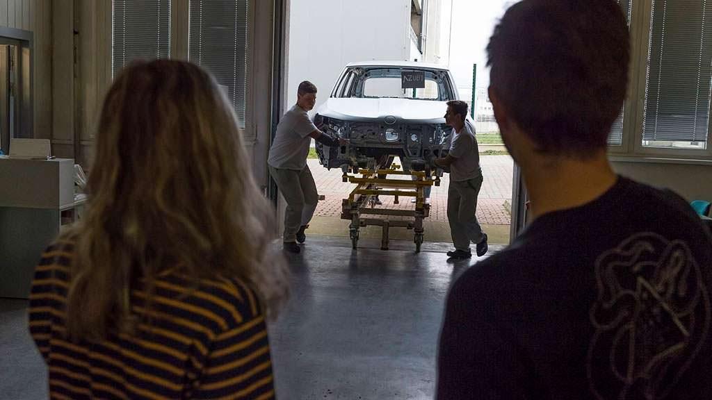 Стажеры Skoda в работе над Karoq Cabriolet