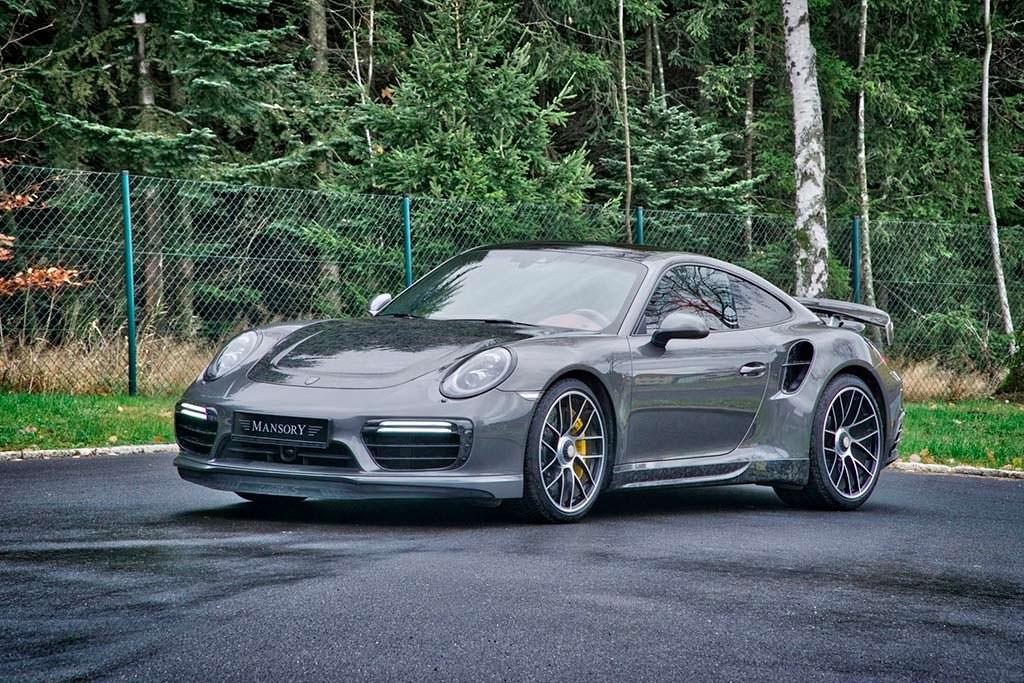 Карбоновый тюнинг Porsche 911 Turbo S от Mansory