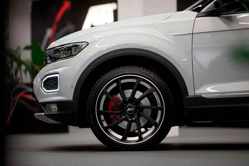 Двухцветные колесные диски Volkswagen T-Roc от ABT Sportsline