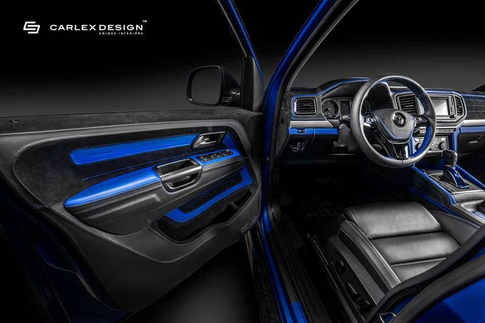 Салон VW Amarok Aventura от Carlex Design