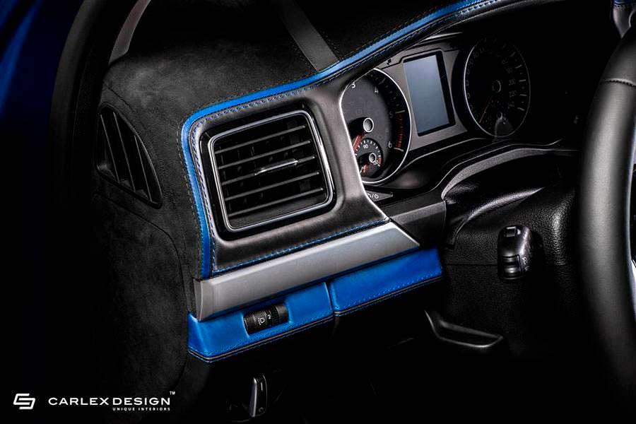 Кожа и алькантара в отелке VW Amarok Aventura от Carlex Design